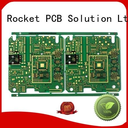 Rocket PCB customized pcb manufacturing process precision