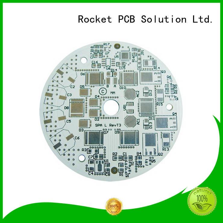 aluminum printed circuit boards popular for equipment Rocket PCB