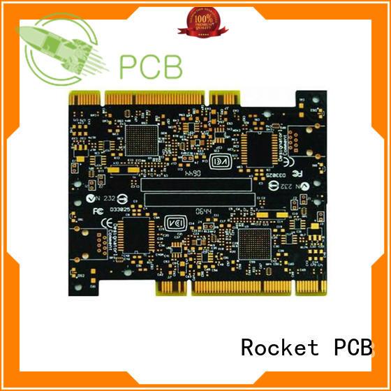 Rocket PCB at discount gold bonding finger pcb edge for import