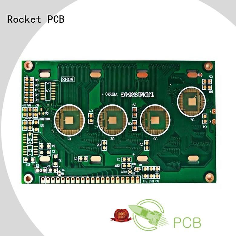 Rocket PCB finished wire bonding bulk fabrication for automotive