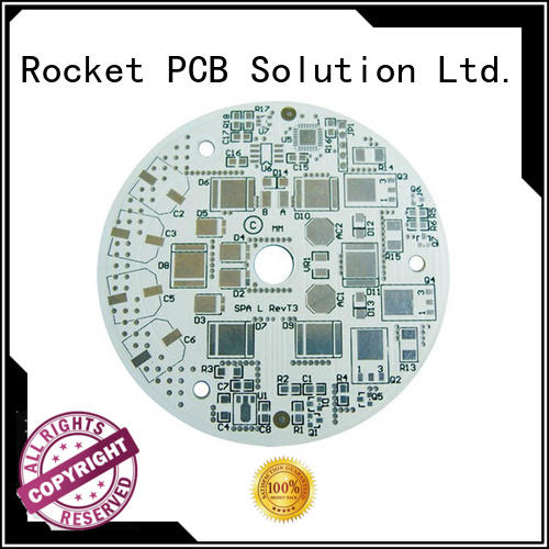 Rocket PCB base printed circuit boards design fabrication and assembly light-weight for digital products