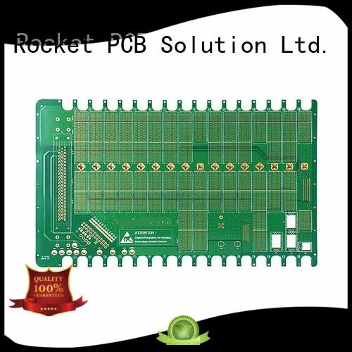 Rocket PCB back plane high speed backplane board