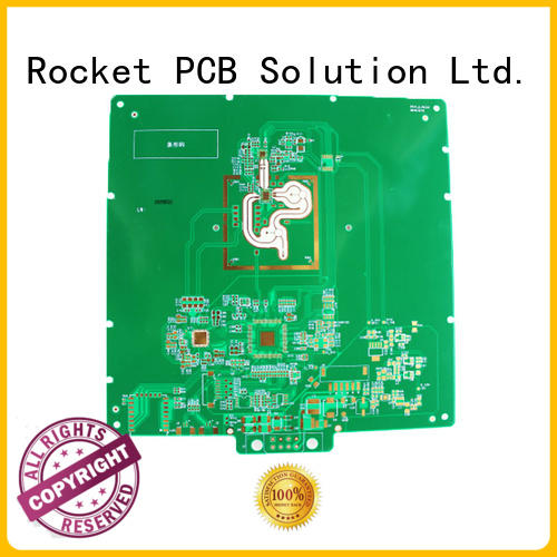 mixed rogers pcb production for electronics Rocket PCB