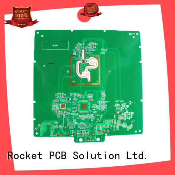 Rocket PCB hybrid printed circuit board testing material for digital product
