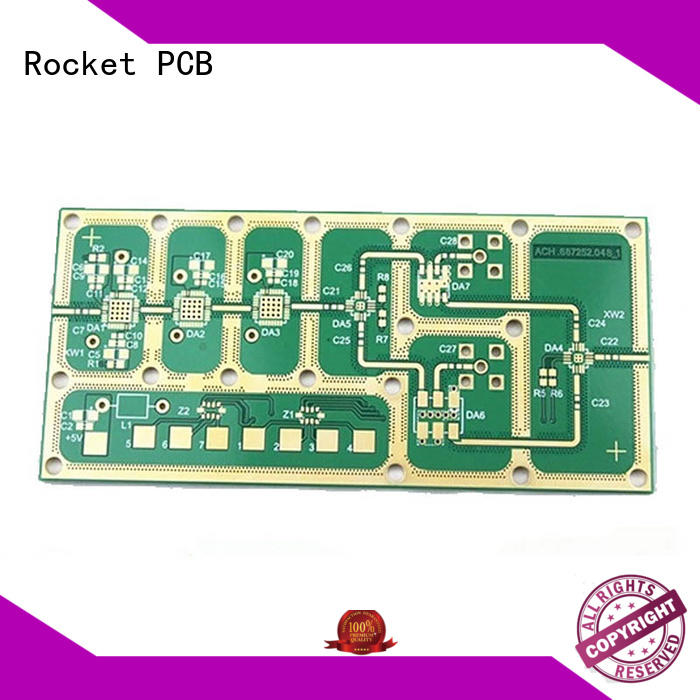 Rocket PCB rigid high frequency PCB board for sale