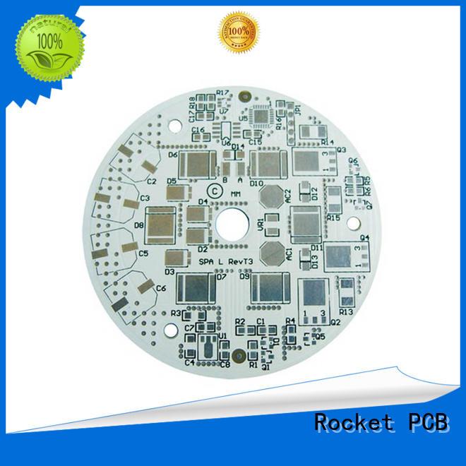 Rocket PCB aluminum aluminum printed circuit boards light-weight for equipment
