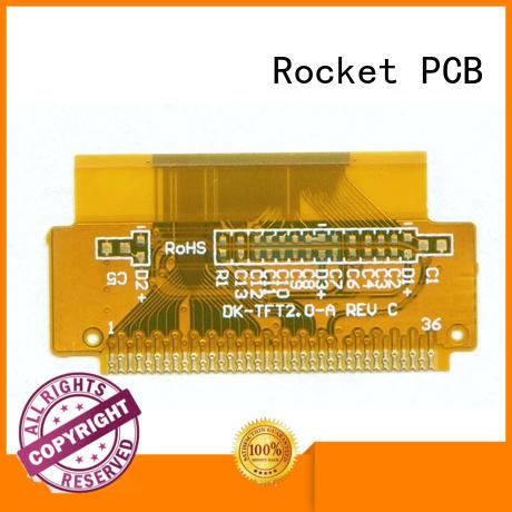 multilayer flexible printed circuit boards flex electronics Rocket PCB