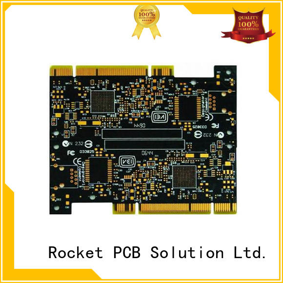 gold pcb connection staged for import