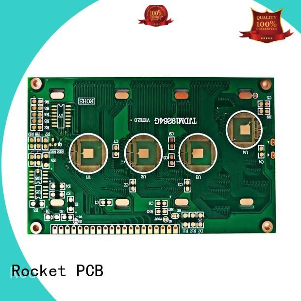 Rocket PCB fabrication wire bonding process surface finished for electronics