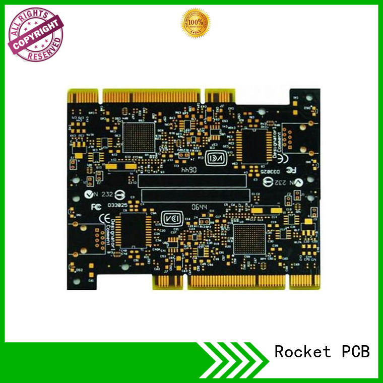 Rocket PCB optional gold column edge for wholesale