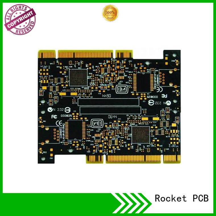 Rocket PCB optional gold column edge for wholesale