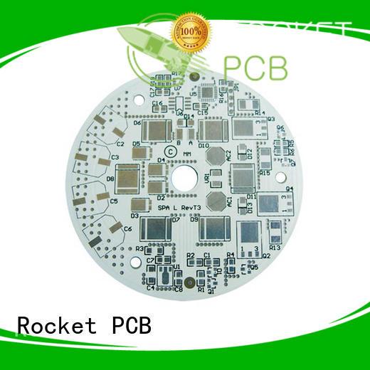 Rocket PCB aluminum aluminum pcb board at discount for equipment