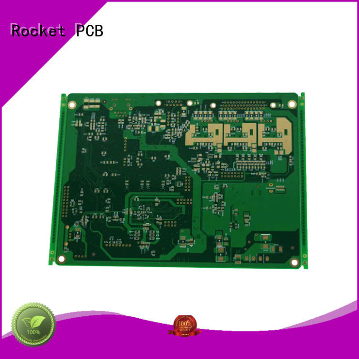 Rocket PCB copper power pcb coil for electronics