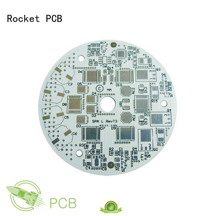 Rocket PCB printed aluminum pcb light equipment