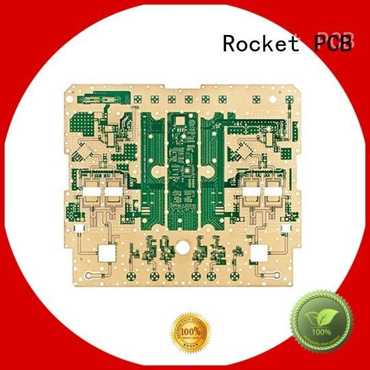 Rocket PCB micro-wave pcb thermal design bulk production for automotive