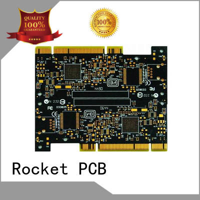 gold plated pcb board plated staged gold finger pcb plating company