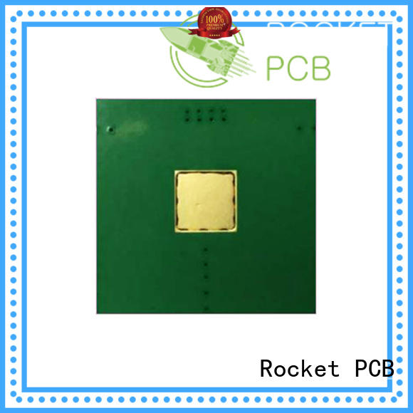 Rocket PCB coinembedded copper coin pcb board for electronics