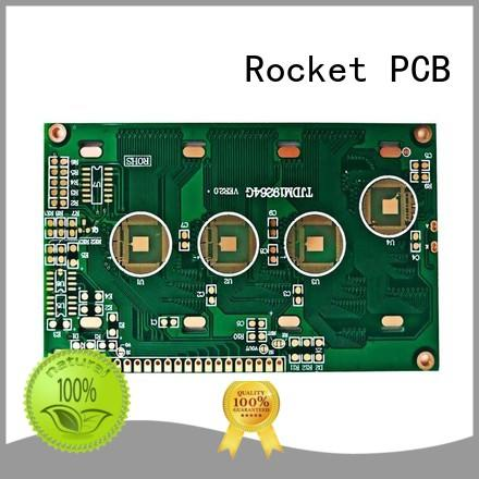 Rocket PCB surface wire bonding services surface finished for digital device