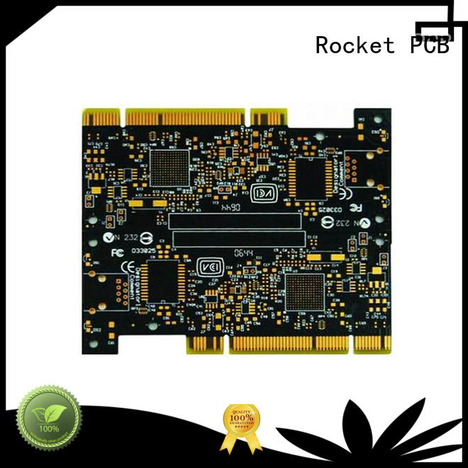 Rocket PCB gold plated holes highly-rated for import