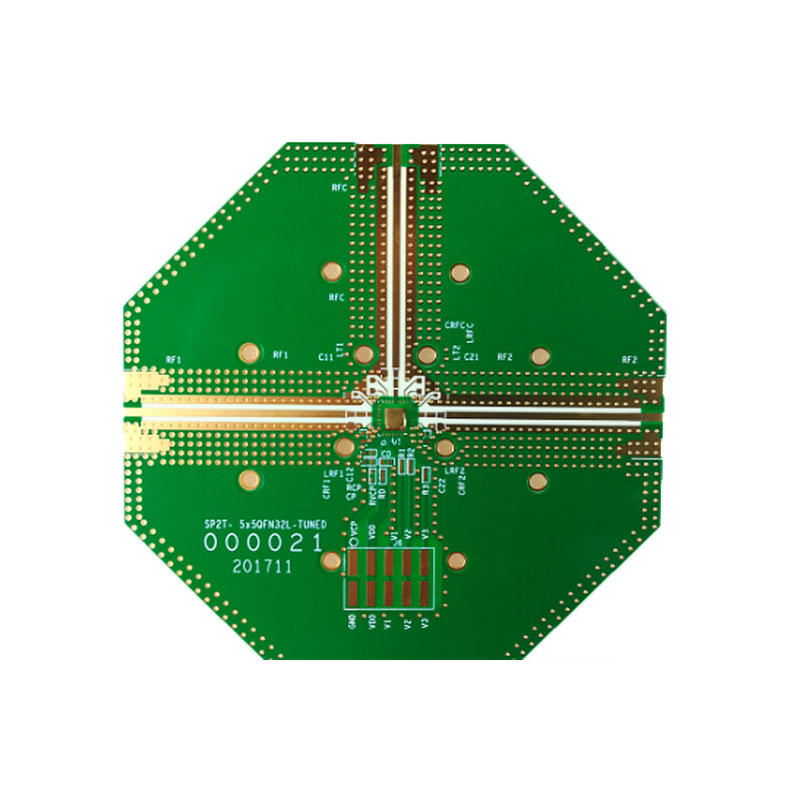 Hybrid PCB production Rogers+FR4 pcb high frequency material PCB-1