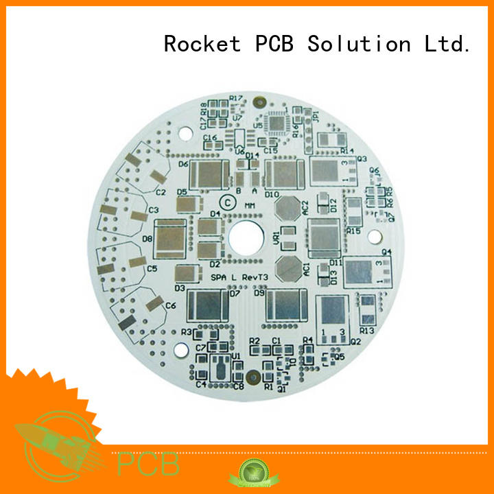 Rocket PCB board printed circuit boards design fabrication and assembly led for digital products
