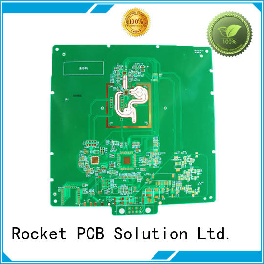 Rocket PCB hybrid pcb structure for electronics