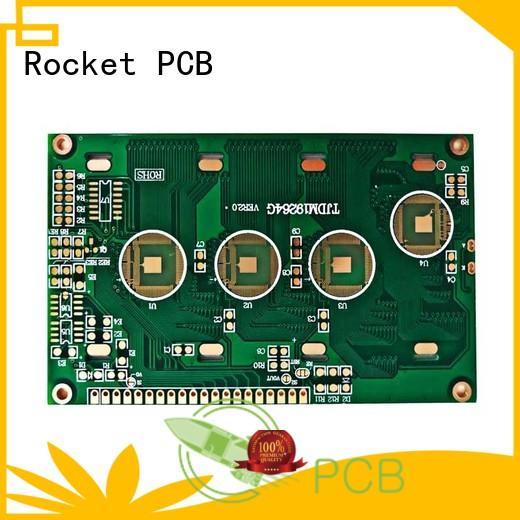 Rocket PCB bonding aluminum wire bonding process bulk fabrication for digital device