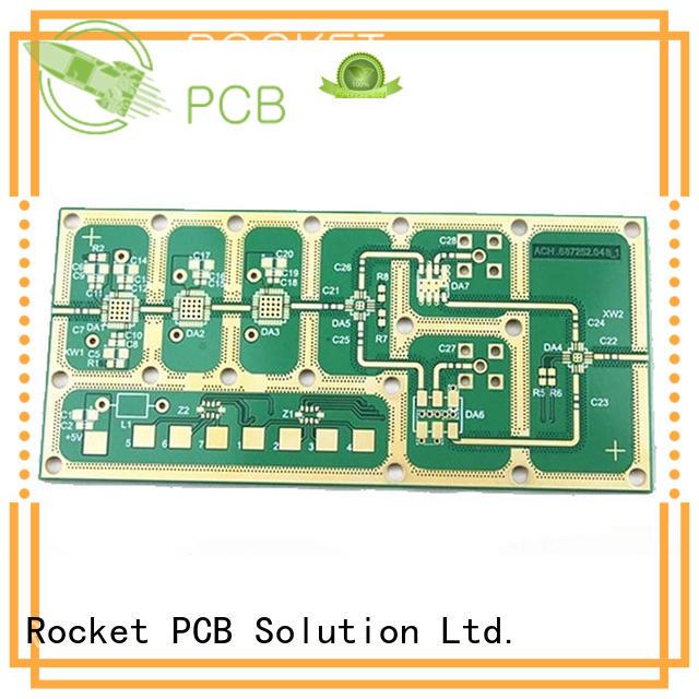 multicavity high frequency PCB depth depth