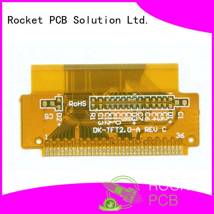 Rocket PCB pi flexible circuit board high quality for automotive