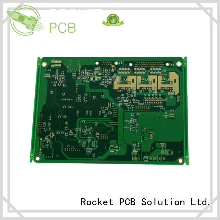Rocket PCB copper printed circuit board process power board for digital product