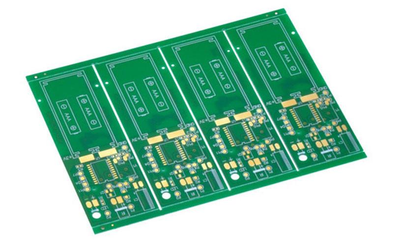 quick double sided printed circuit board turn around consumer security Rocket PCB-1