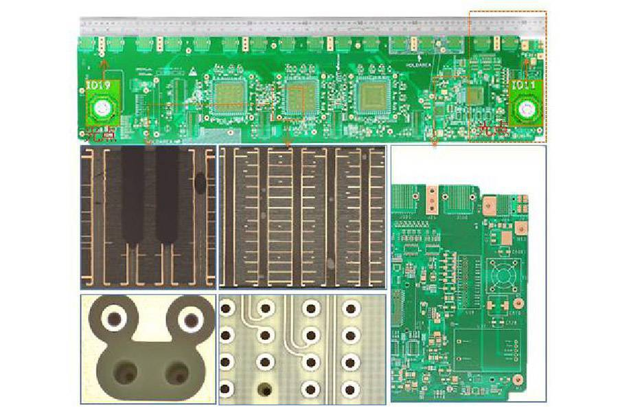 Large format, large scale size PCB