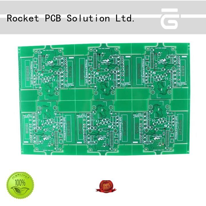 Rocket PCB double diy double sided pcb volume digital device