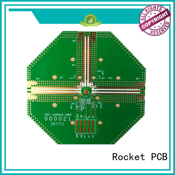 Rocket PCB structure hybrid pcb structure for digital product