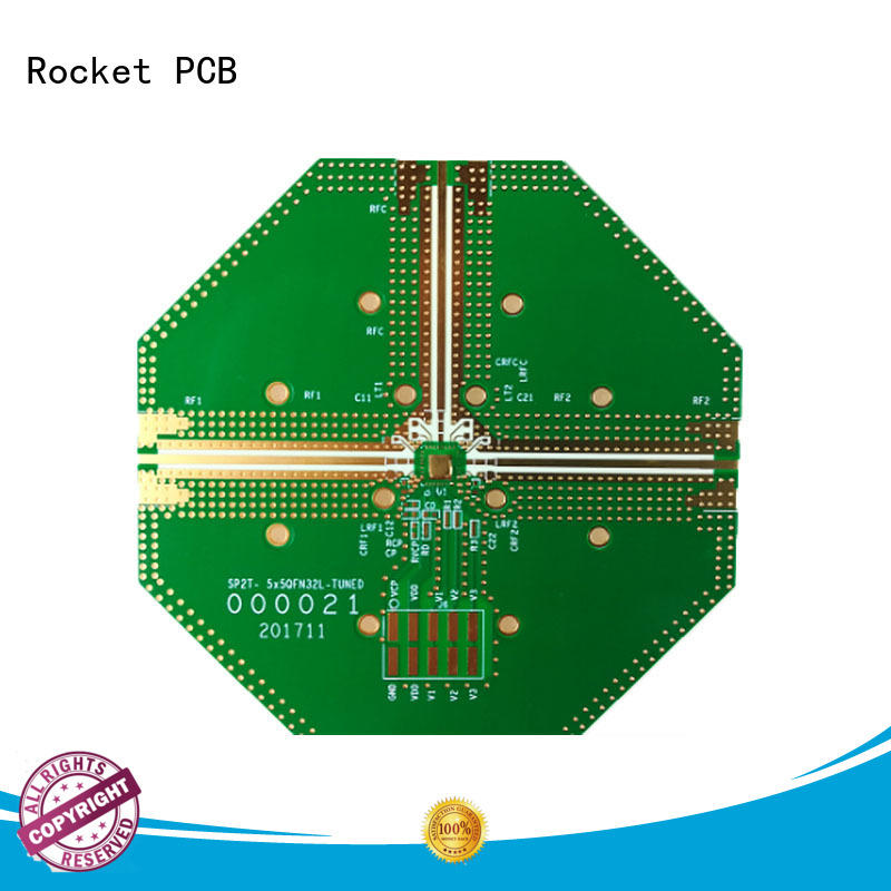 Rocket PCB mixed types of pcb board material for digital product