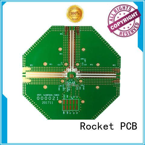 Rocket PCB mixed hybrid pcb production for electronics