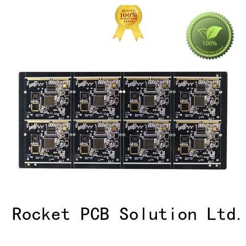 Rocket PCB plated gold bonding finger pcb connector for import
