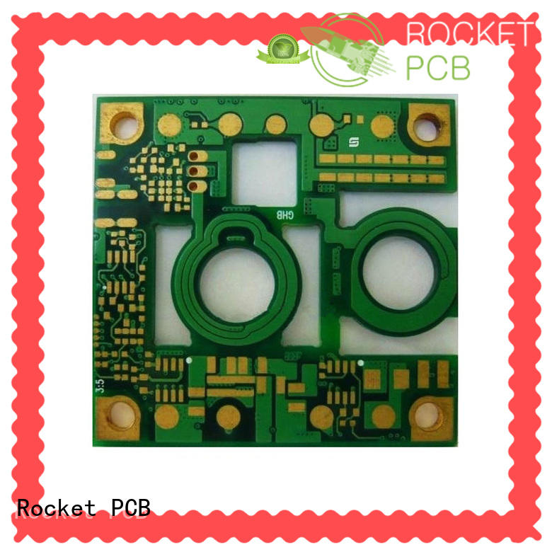 Rocket PCB copper printed circuit board process coil for device