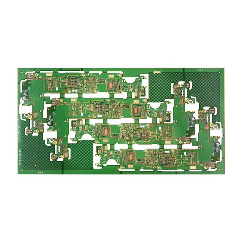 High precision any layer HDI multilayer PCB fabrication