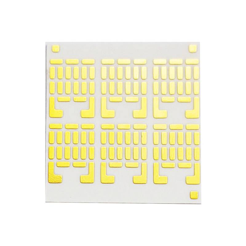 Ceramic Substrates pcb board Al2O3 base material ceramic thermal management pcb