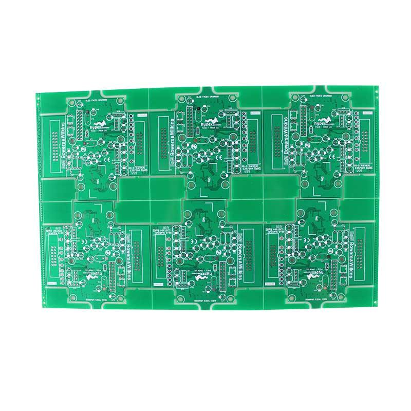 2-layer PCB prototyping PCB quick turn around in 24 hours
