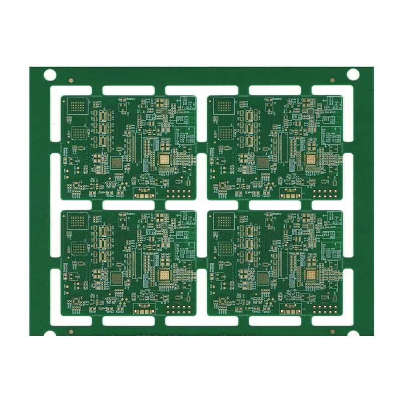 High density HDI PCB laser via PCB stacked via PCB prototype production