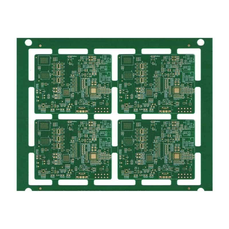 High density HDI PCB laser via PCB stacked via PCB prototype production