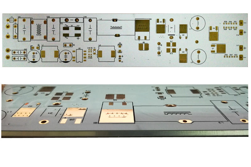 Rocket PCB custom aluminum pcb board control for equipment