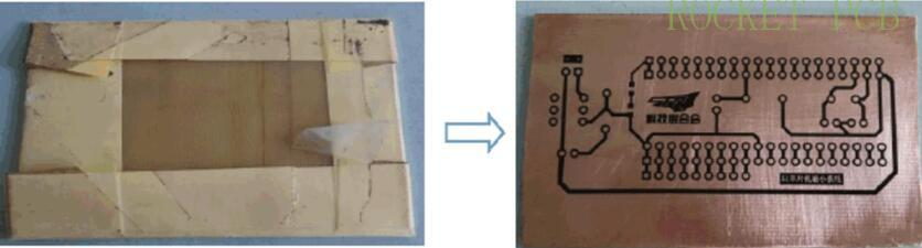 news-Teach you how to make simple PCB at home- heat transfer printing-Rocket PCB-img-5
