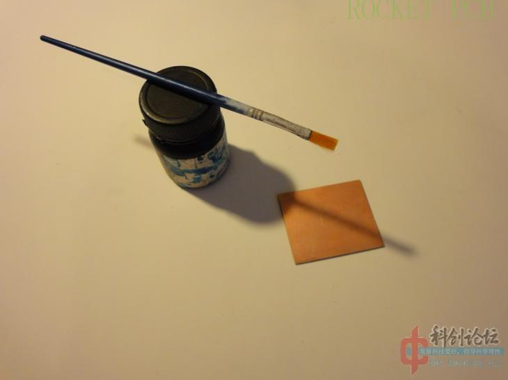 news-Teach you how to make simple PCB at home- Photosensitive method-Rocket PCB-img-10