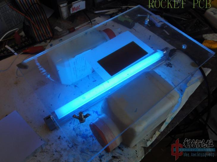 news-Teach you how to make simple PCB at home- Photosensitive method-Rocket PCB-img-11