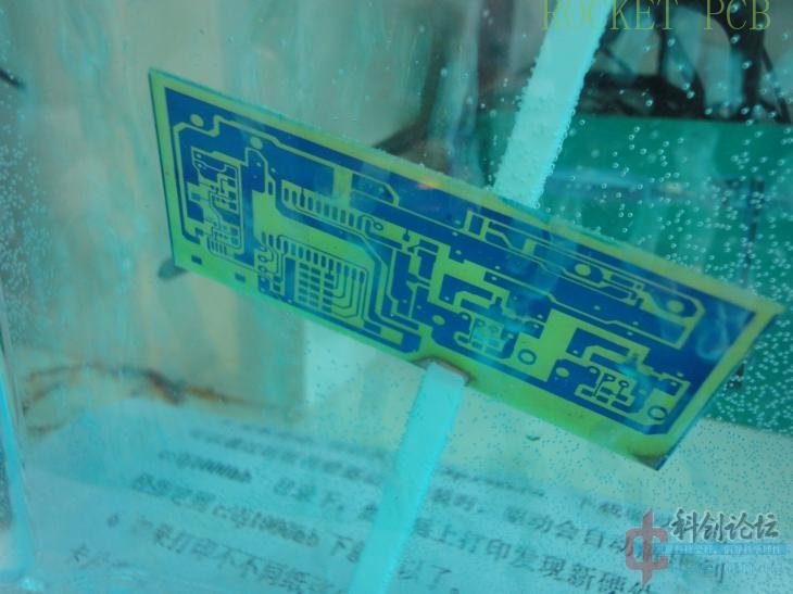 news-Rocket PCB-Teach you how to make simple PCB at home- Photosensitive method-img-13
