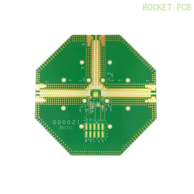 Hybrid rogers PCB Mixed structure PCB rogers4350+FR4