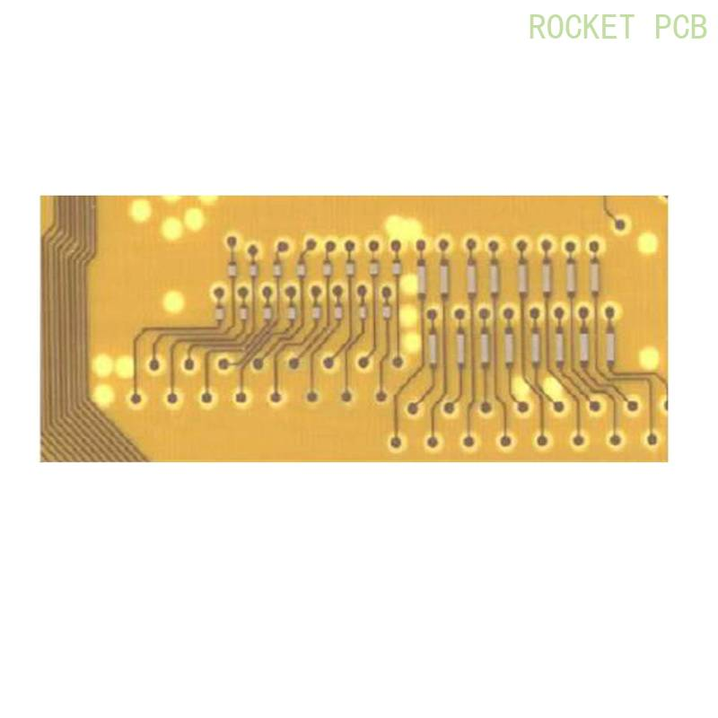 Embedded pcb resistor resistance buried manufacturing for Cable Assembly